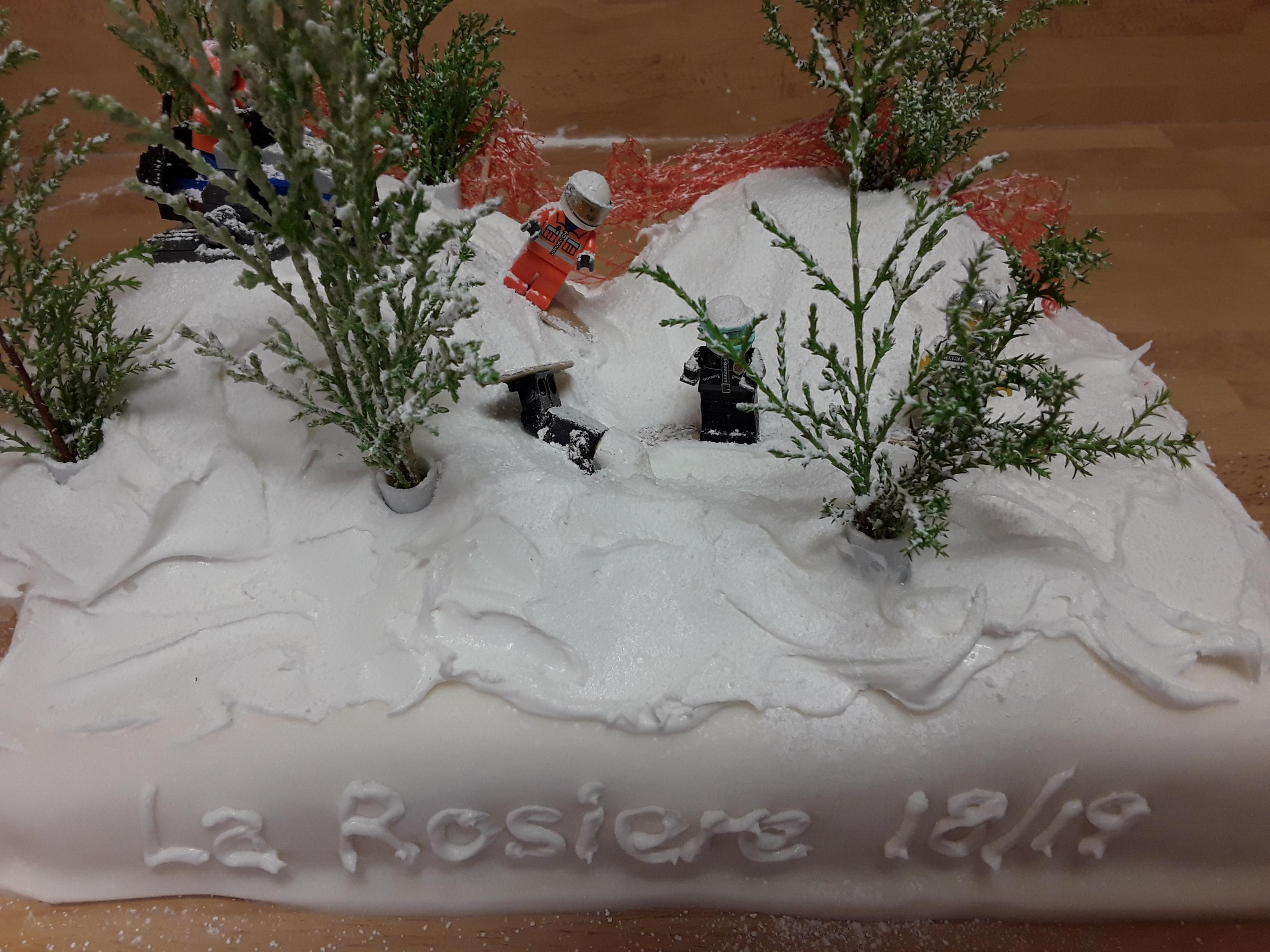 La Rosière cake Keiran