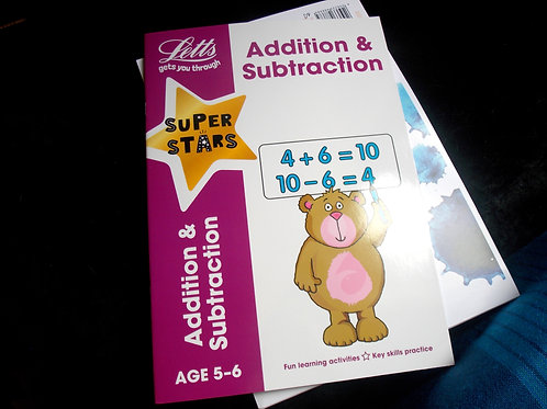 Addition & subtraction age 5-6