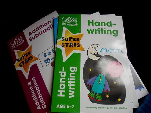 Hand writing age 6-7