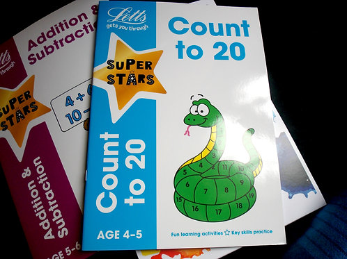count to 20 age 4-5 book