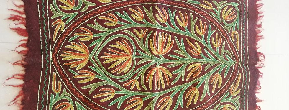 שטיח צמר על צמר 120*90 בגווני זריחה