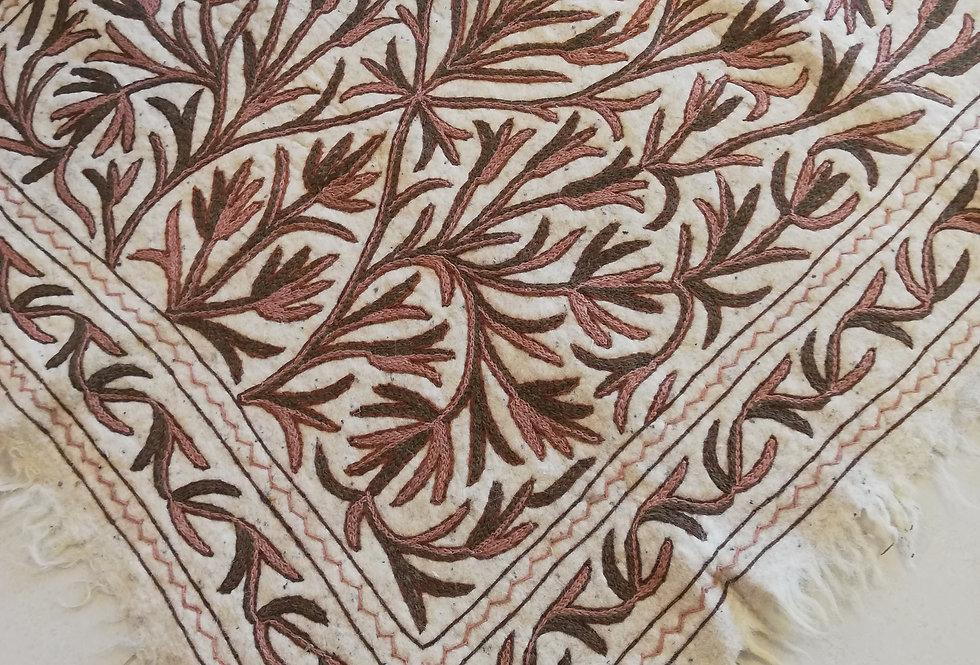 שטיח צמר על צמר 120*180 בגווני ניוד