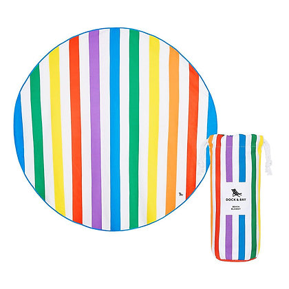 Dock & Bay Quick Dry Round Beach Blanket