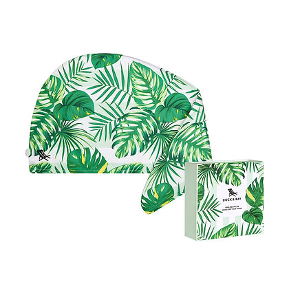 Botanical Hair Wrap - Palm Dreams