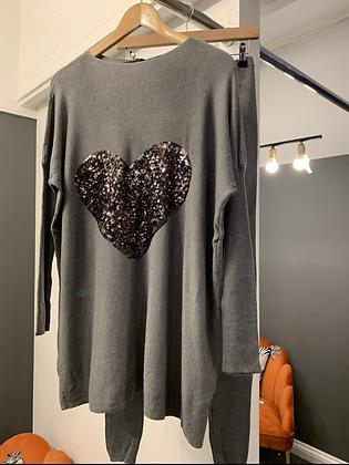 Grey Loungewear
