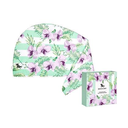 Botanical Hair Wrap - Orchid Utopia