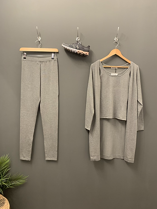 3 Piece Loungewear - Grey