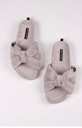 Ariel Slippers - Grey
