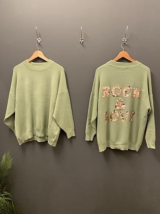 Sequin Knitwear