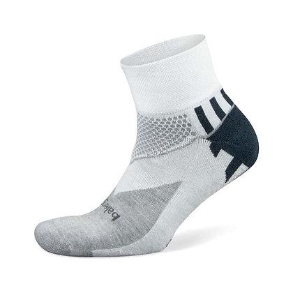 BALEGA Enduro Socks - White/Mid Grey