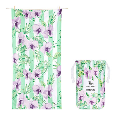 Botanical Towel - Orchid Utopia