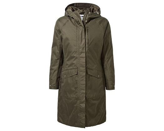 Khaki Waterproof Coat