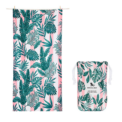 Botanical Towel - Banana Leaf Bliss