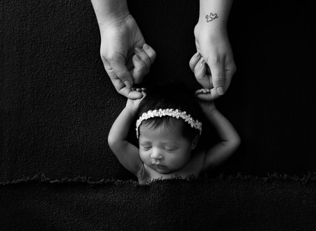 Studio Newborn Session | Miami Newborn Photographer