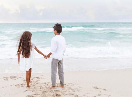 Family Beach Session | Miami Beach Family Photographer