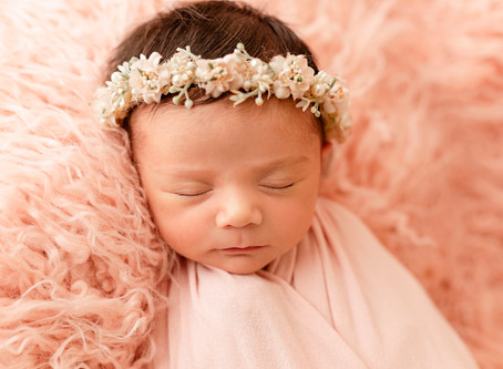 Gianna's Newborn Session | Miami Newborn Photographer