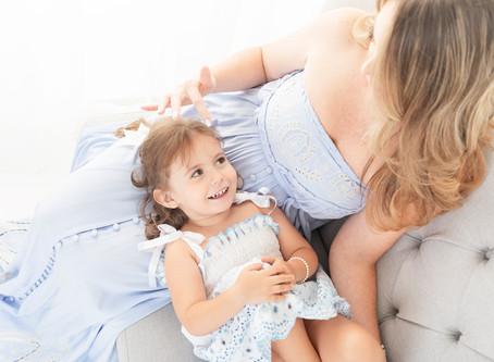 Studio Motherhood Session | Miami Motherhood Photographer