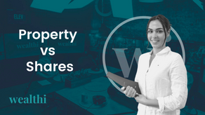 Comparing shares with property market returns