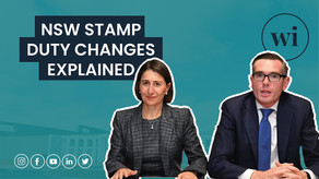 Everything you need to know about NSW Stamp Duty changes