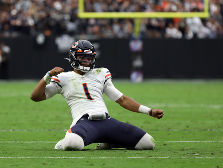 The Nagy Diaries: Justin Fields Leads the Bears to Another W in Vegas
