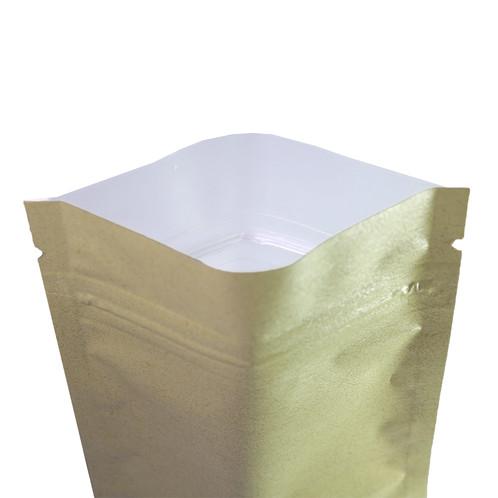 Translucent/Matte Kraft Mylar Foil Ziplock Bags (100 Bags)