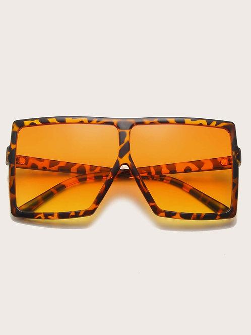 The Square Biz Tortoise Sunglasses