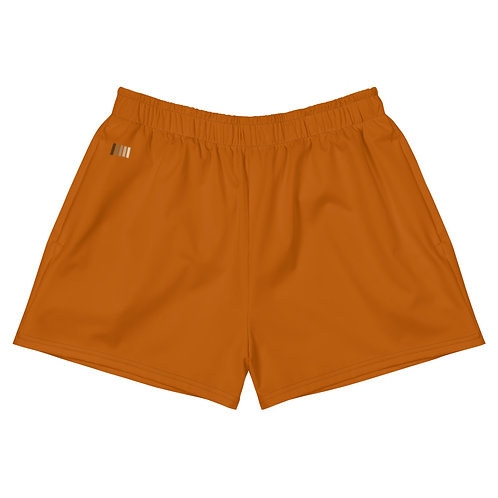 Women's Athletic Short Shorts: Ginger