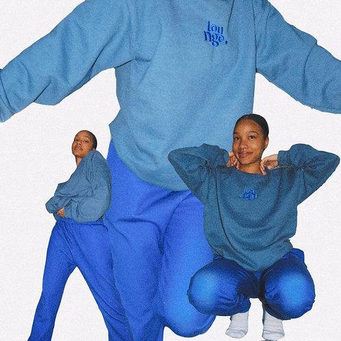 """""""Deep Blue"""" Sweatpants"""