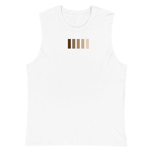 Muscle Shirt. shades print