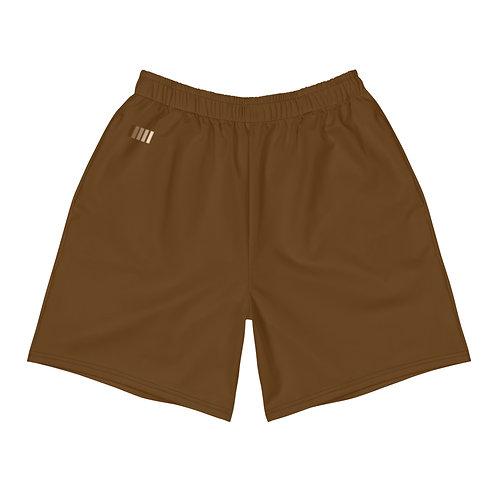 Brown Men's Athletic Shorts