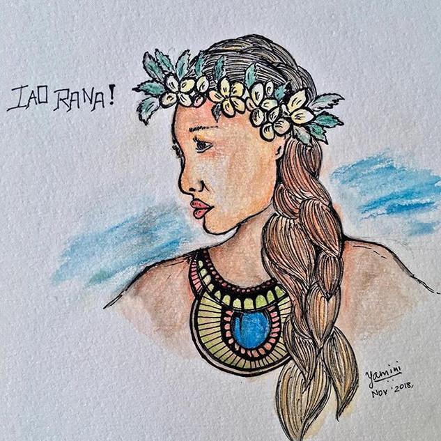 Tahiti Girl