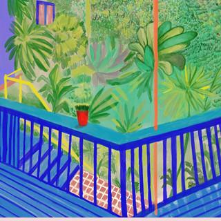 David Hockney Imitation