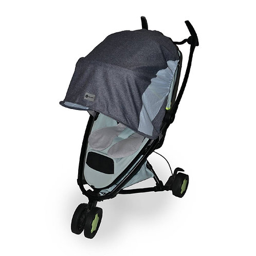 Sunshade/rain cover for a stroller and buggy