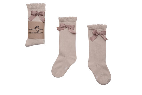 Ladies High-Knee Socks -Josephine