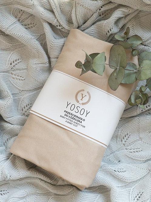 Jersey cotton sheet 83x50cm - Yosoy