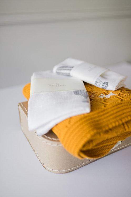Welcome Baby - Gift Set #4 (Mustard)