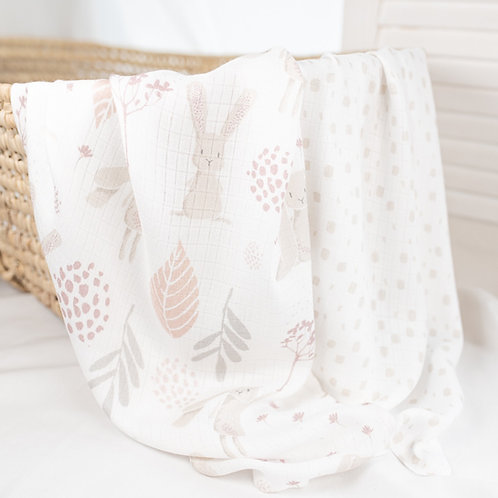 2-pack Bamboo Squares/Cloths - Colorstories