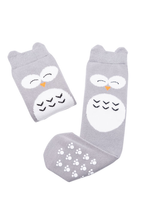 HIGH KNEE SOCKS - HANK THE WISE OWL