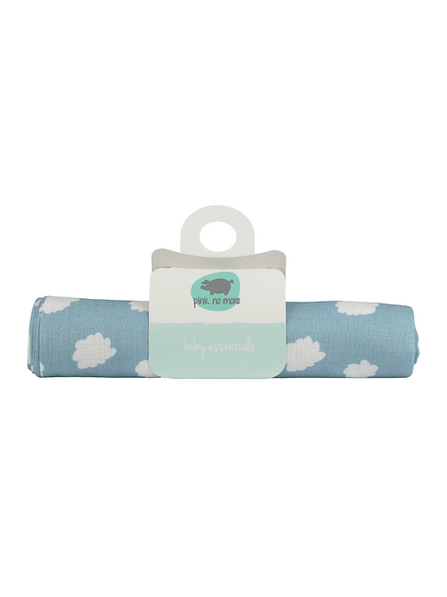 Muslin Swaddle - Pink No More