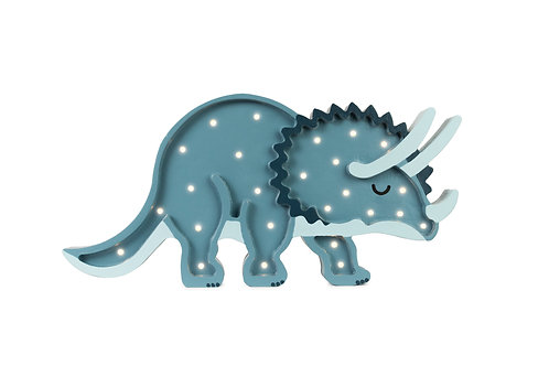Little Lights Dino Triceratops lamp