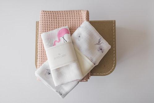 Welcome Baby - Gift Set #8 (Pink Flamingo)