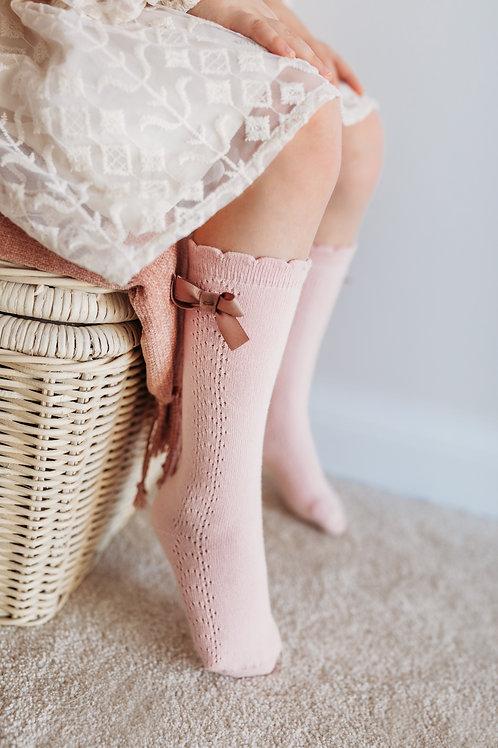 Ladies High-Knee Socks - Florence