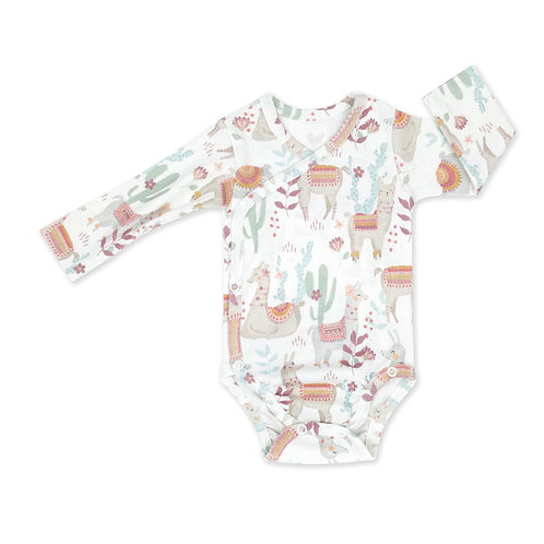 Baby Vest - Long Sleeve -3-6 months- 68cm - ColorStories