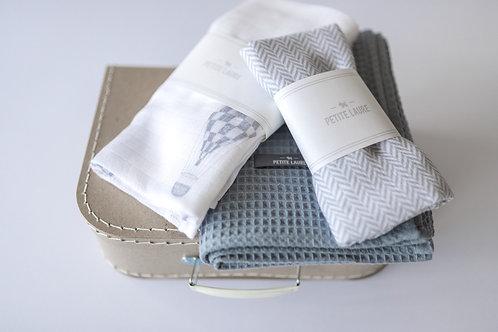 Welcome Baby - Gift Set #12  (Ocean Blue)