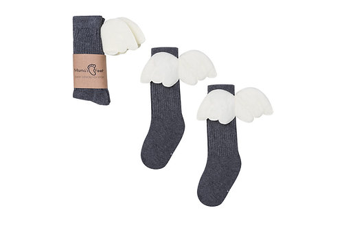 ANGEL KNEE HIGHS - GRAPHITE