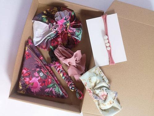 Baby Girl headband set 0-6 months (Flower)