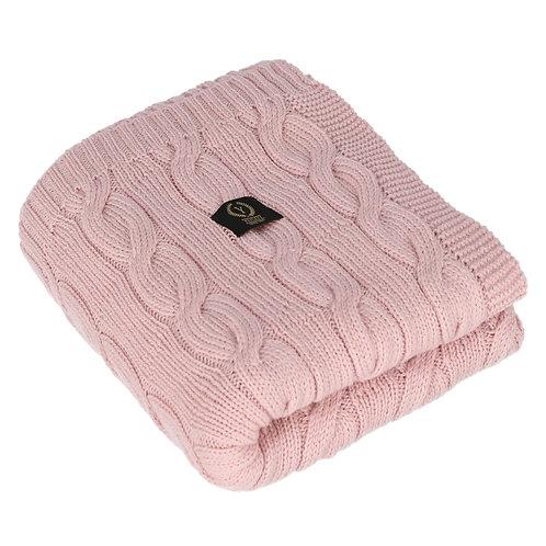 Knitted blanket 100% MERINO WOOL