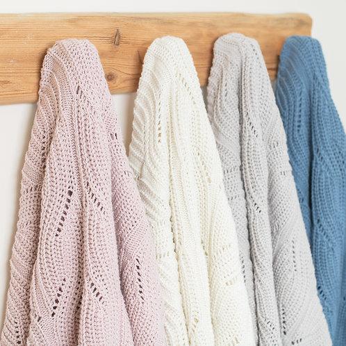 Crochet cotton blanket  - ColorStories