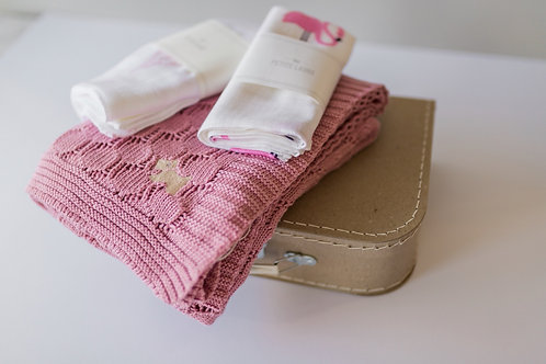 Welcome Baby - Gift Set #3 (Pink Flamingos)