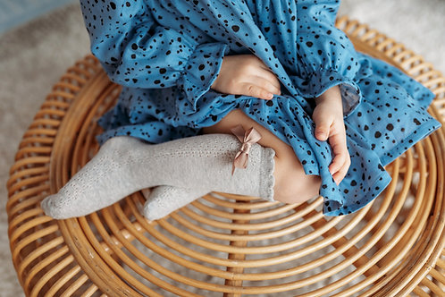 Ladies High-Knee Socks -Clara
